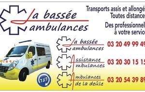 La Bassée ambulances